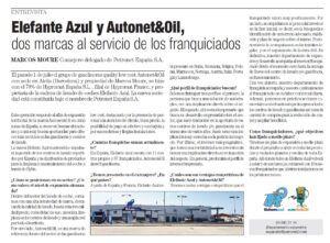LAS FRANQUICIAS ELEFANTE AZUL Y AUTONET&OIL